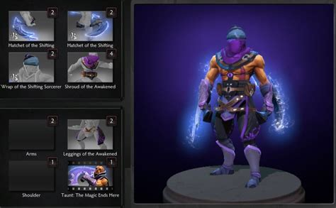 Ranti Set just a comparision between anti mage sets dota2