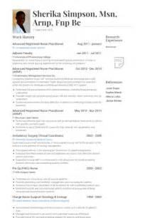 sample nurse practitioner resume new graduate - Sample Nurse Practitioner Resume