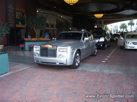rolls royce phantom spotted in las vegas nevada on 11 15 2009