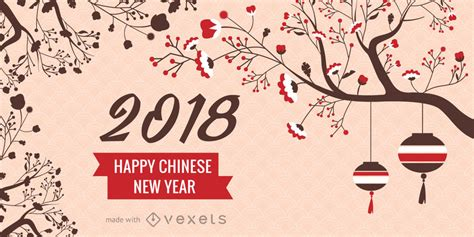 new year in china 2018 2018 new year maker editable design