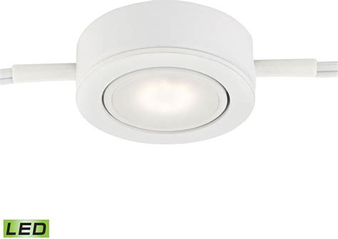 Alico Mle401 5 30 Tuxedo Swivel Modern White Led Under Puck Cabinet Lighting