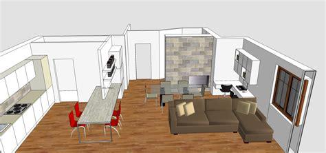 living cucina ingresso  studio   mq mayday casa