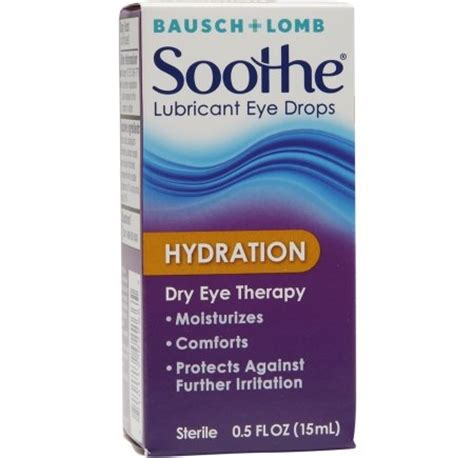 $1.99 (Reg $10.79) Bausch Lomb Soothe Dry Eye Drops at Walgreens
