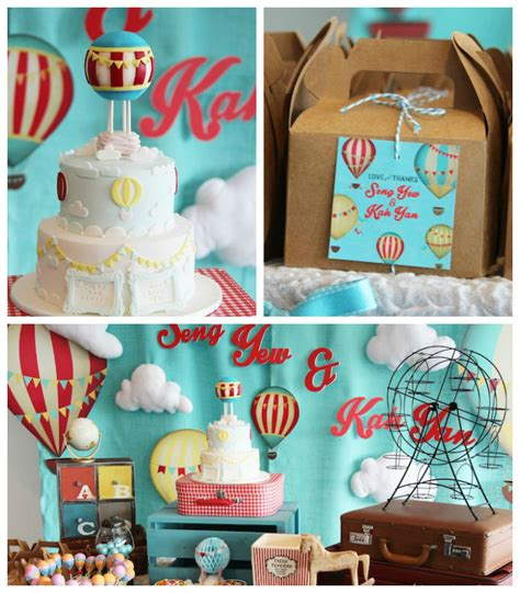 cooland grown upbirthday party ideas from pinterest quot growing up up up quot themed hot air balloon birthday party