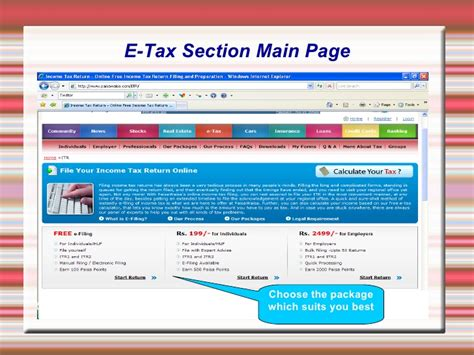 income tax return filing sections free income tax return filing