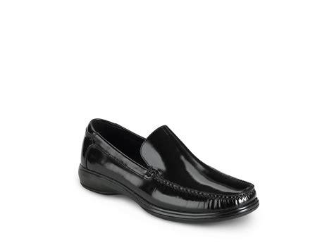 cole haan nike air keating venetian slip on shoe in black
