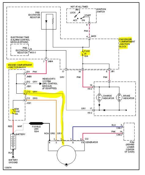xg30 not charging garage replaced alternator no
