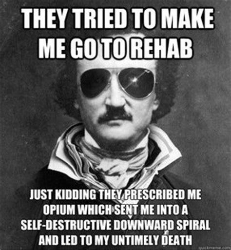 Edgar Allen Poe Meme - poe meme cool stuff pinterest