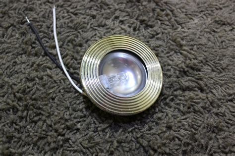 used light fixtures for sale rv interiors used rv liteco 1651h puck light fixture for
