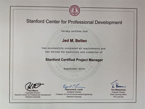 Ms Electrical Engineering Mba Stanford Requirements by A Walk To Zen Taking The Stanford Advanced Project