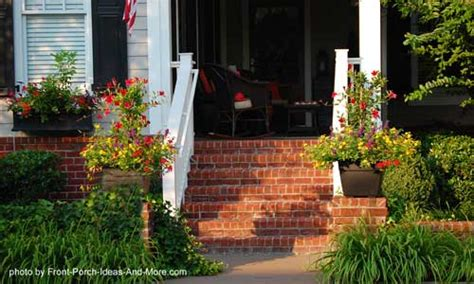 Brick Front Porch Steps Porch Steps Designs And More