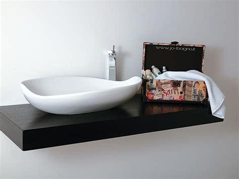 mensole per lavabi da appoggio piano e mensola da appoggio per lavabo bagno jo bagno it