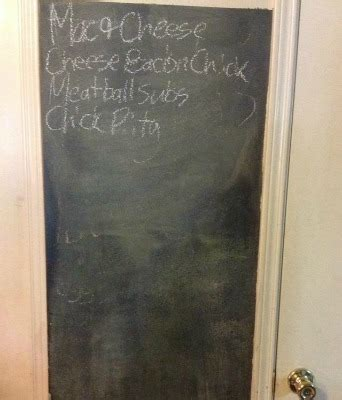 chalkboard paint peeling menu board ideas so your family knows what s for dinner
