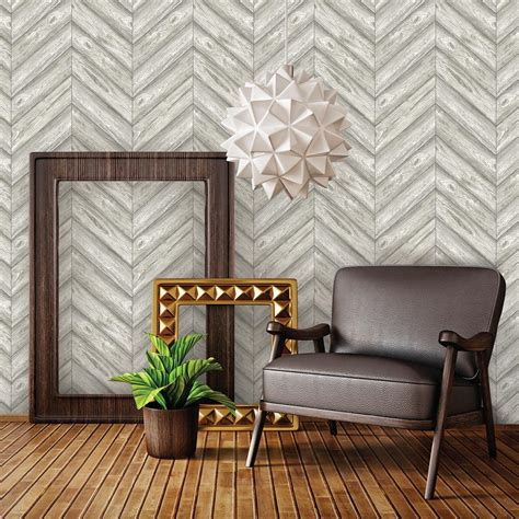 tempaper removable wallpaper tempaper ash herringbone wallpaper he500 the home depot