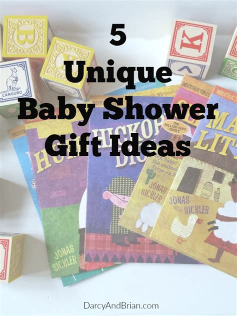Unique Gift Idea - 5 unique baby shower gift ideas