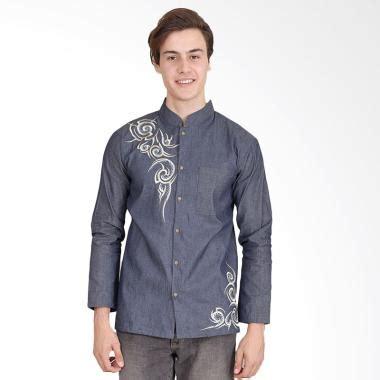Gamis Kaos Pakistan Abu Tua Baju Koko Grey Lengan Panjang jual baju koko modern terbaru terlengkap harga murah