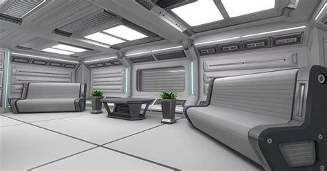 design house unity 3d sci fi interior pack asset store