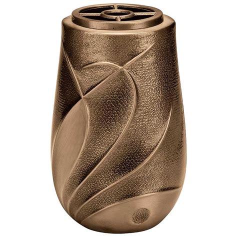vasi a parete vaso portafiori 20x10cm in bronzo con interno in