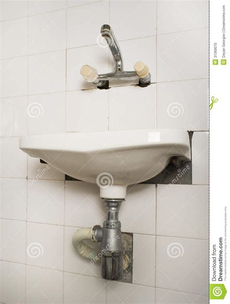 bathroom sink pipe sink and pipes stock photo image 31369070