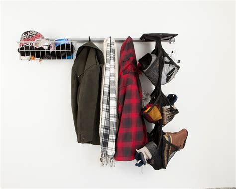 garage coat and shoe storage wall mounted garage shoe storage rack and coat hat and