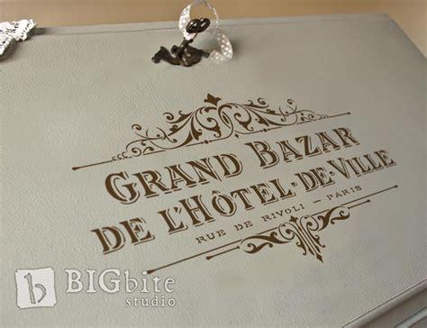 shabby chic stencils shabby chic stencil vintage hotel de ville grand bazar