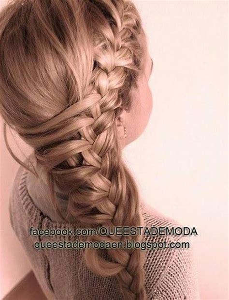 Peinados En Trenzas Con Pelo Largo Paperblog | peinados en trenzas con pelo largo paperblog