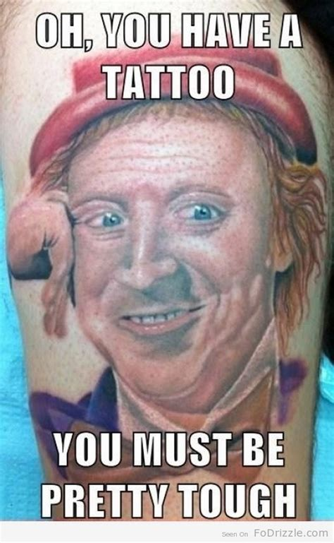 Meme Tattoo - funny meme tattoos 13 pics