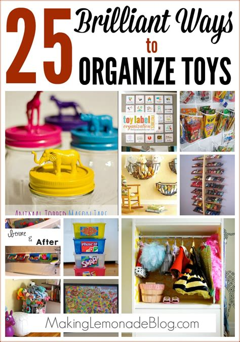 how to organize toys 25 brilliant ways to organize toys making lemonade