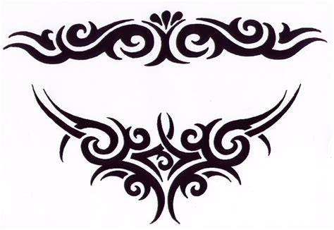 tribal design tattoo tribal