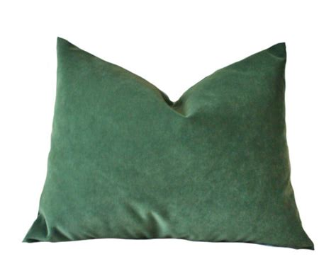 Green Velvet Throw Pillows by Designer Decorative Pillow Cover Green Velvet Pillow Cover