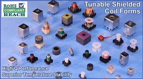 tunable inductor coil forms inductor coil forms 28 images rf inductor coil form 7 6 uh 1 125 inch d x 1 5 inch l 22
