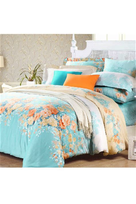 light teal comforter comforter sets accessories quot light teal romantic floral
