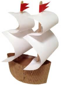 Make a Mayflower Ship   Art Projects for Kids