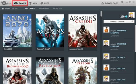 how to update uplay games ubisoft game launcher