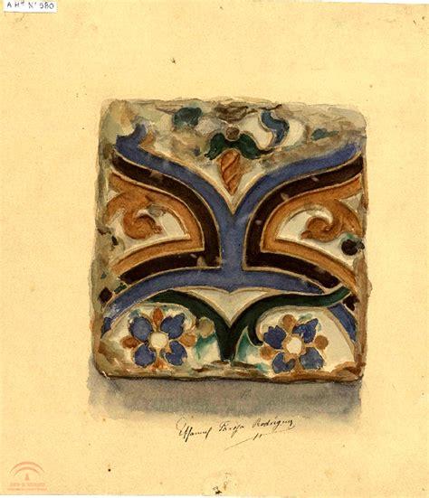 decoracion mudejar azulejo mud 233 jar con decoraci 243 n vegetal