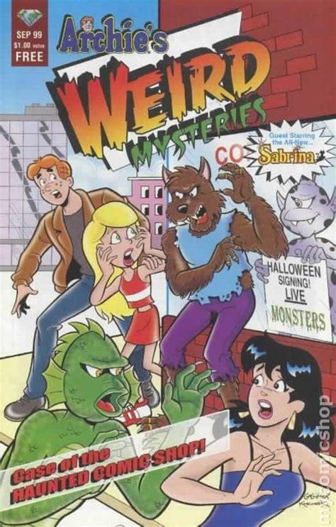 archie s coloring book books archie s mysteries mini comic 1999 comic books