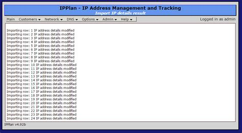 ips template importing ips into ipplan almost a