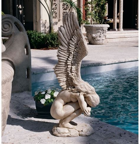 angel sculptures 12 gorgeous large angel garden statues