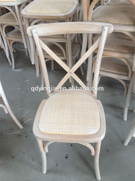 X Back Bistro Chair Furniture Bistro Style Wooden Rattan Seat Cross Back Dining Chair Country X Back