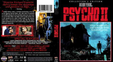 psycho 2 cover label 1983 r1