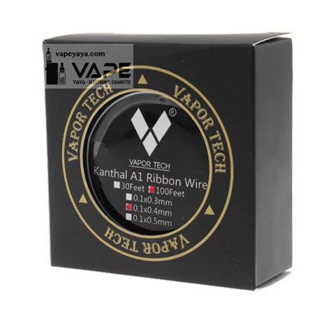 Vaportech Kanthal A1 24g 30 Ft vapor tech kanthal a1 ribbon heating wire 100ft