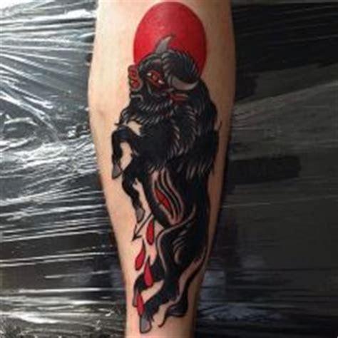 tattoo old school bull bull tattoos tattoo traditional and tattoo artists on