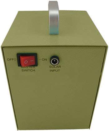 Lu Darurat Emergency 5w Solar Dc Lighting Kit Lu Led Emergency unit back