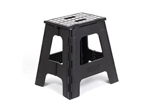 Kitchen Bar Ideas Step Stool Folding Tall Black Kikkerland Design Inc