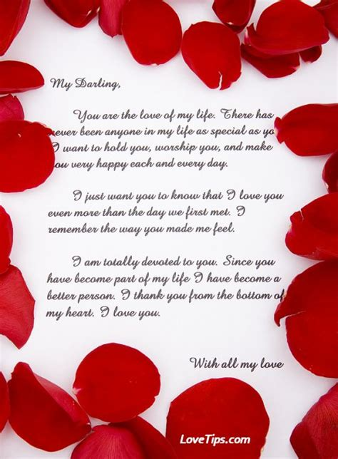 Letter To My Sweetheart My