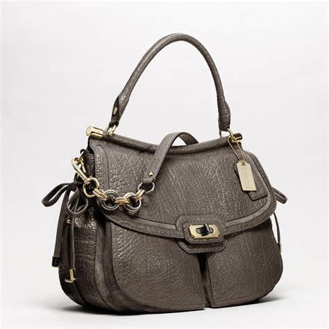 shoulder bag coach new flagship buffalo leather dowel flap shoulder bag
