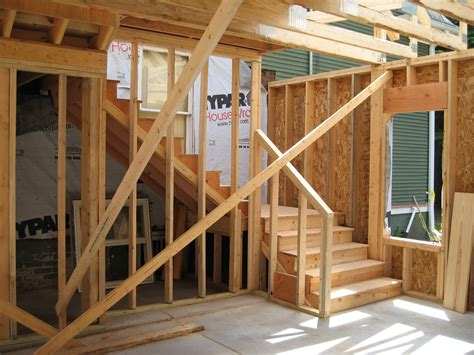 time address stairs garage  design phase house