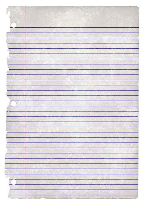 A Out Of Paper - college ruled paper texture jpg