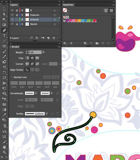 reset pen tool illustrator design an international women s day wall decal in adobe