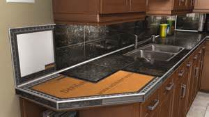 Kitchen Counter Tile Ideas countertops schluter com